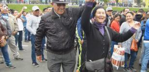 'Abuelitos' arrasaron bailando salsa en el Show de Radiomar Plus