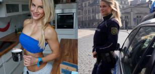 Ella es la mujer policía más sexy del mundo [FOTOS]