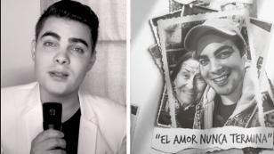 Álvaro Rod estrenó 'El amor nunca termina', tema dedicado a su abuelita