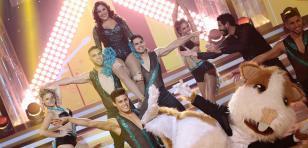 Andrea Llosa bailó salsa de Celia Cruz en 'El Gran Show'