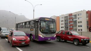 Buses del corredor San Juan de Lurigancho llegarán hasta la av. Tacna