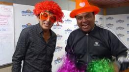 Fernando Armas y Kike Vega presentan el circo de 'Salsa con Humor