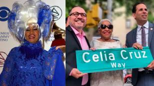 Colocan nombre de Celia Cruz en una calle de Nueva York