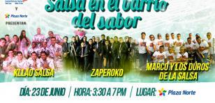 ¡Baila con Zaperoko, Kllao Salsa y Marco y los duros de la salsa!