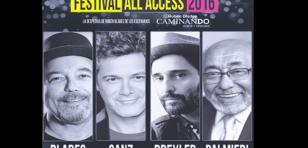 Rubén Blades, Eddie Palmieri, Alejandro Sanz y  Jorge Drexler en el primer