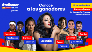 ¡Conoce a los ganadores de las entradas dobles para el concierto de La India en Discoteca Banana!