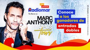 ¡Conoce a los ganadores de las entradas para el concierto de Marc Anthony!