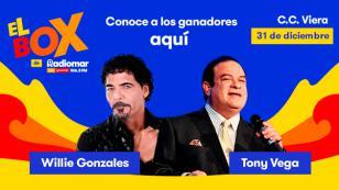 """¡Conoce al ganador del box para el concierto """"Gran Fiesta de Año Nuevo"""" en el Centro de Convenciones Viera!"""