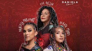 Daniela Darcourt estrenó 'Arriba Perú' junto a Eva Ayllón y Tony Succar [VIDEO]