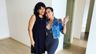 Daniela Darcourt presentó su nuevo departamento junto a su mamá