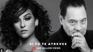 Daniela Darcourt y Tito Nieves celebran el primer millón de 'Si tú te atreves'