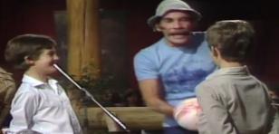 Cuando 'Don Ramón' troleó a unos niños con un globo