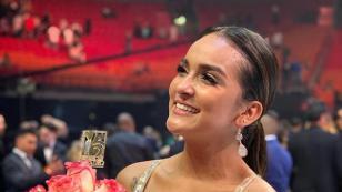 El orgullo de Daniela Darcourt luego de que su pareja se coronara campeón de concurso de baile