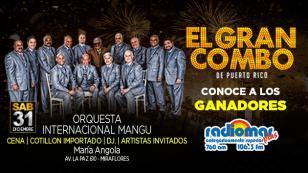 ¡Ellos celebrarán el Año Nuevo 2017 con El Gran Combo de Puerto Rico!