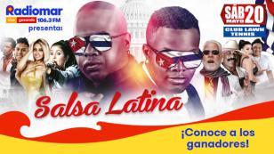 ¡Ellos ganaron entradas dobles para el concierto Salsa Latina!