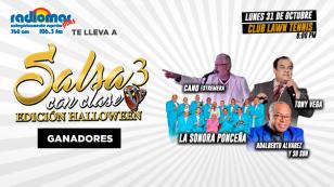 ¡Ellos ganaron entradas para 'Salsa con Clase 3' con Tony Vega, La Sonora Ponceña, Cano Estremera y Adalberto Álvarez!