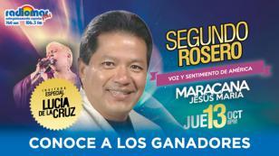 ¡Ellos son los ganadores de las entradas dobles para el concierto de Segundo Rosero!