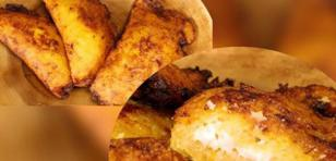 Prepara empanadas de plátano rellenas de queso