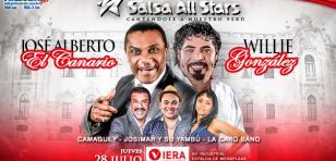 Gana entradas para 'Salsa All Stars' con José Alberto El Canario y Willie González
