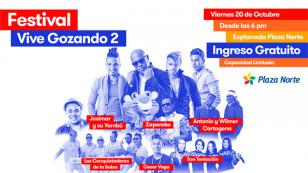 ¡Estos artistas estarán en el Festival Vive Gozando 2 de Radiomar!