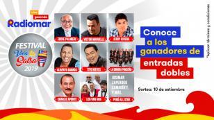 ¡Estos son los ganadores de las 20 entradas dobles para el festival Viva la Salsa!