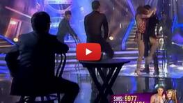 Janet Barboza y Fernando Armas bailan tango en el Gran Show