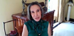 'Doña Florinda' graba emotivo mensaje para 'Chespirito'