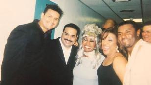 Gilberto Santa Rosa comparte fotografía junto a Víctor Manuelle y Celia Cruz