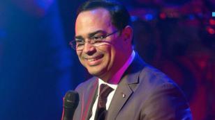 Gilberto Santa Rosa felicita a Andy Montañez por su Latin Grammy a la Excelencia