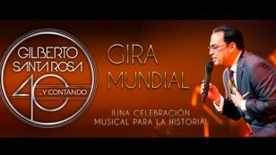 Gilberto Santa Rosa suspendió conciertos en República Dominicana