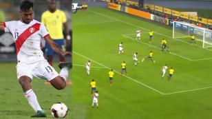 Perú vs Ecuador: así fue el gol tipo 'misil' de Renato Tapia