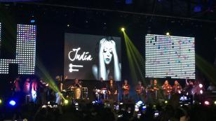 ¡India puso a bailar a salseros en Barranco! (VIDEO Y FOTOS)