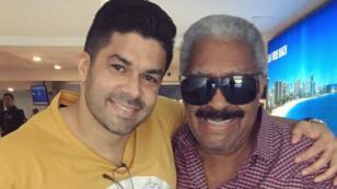 Jerry Rivera compartió fotografía de su encuentro con histórico músico del Gran Combo