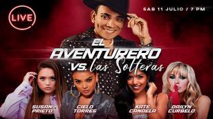 Josimar ofrecerá concierto virtual 'El Aventurero Vs. Las Solteras'