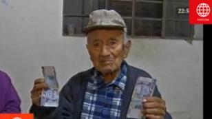 Jubilado recibe 200 soles falsos en su pensión de jubilación