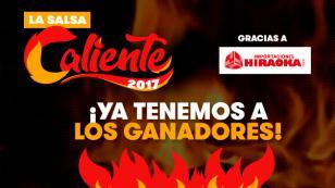 ¡Ya tenemos a los ganadores de 'La Salsa Caliente 2017' gracias a Hiraoka!