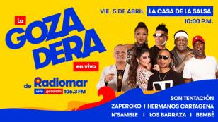 Lo mejor de la Salsa Peruvian estará en La Gozadera de Radiomar