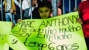 Marc Anthony compartió foto de uno de sus pequeños fans