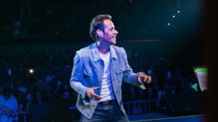 Marc Anthony tuvo dificultad para respirar durante concierto en México