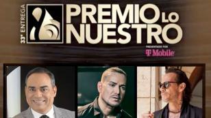 Marc Anthony, Víctor Manuelle y Gilberto Santa Rosa enfrentados en Premio Lo Nuestro 2021