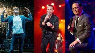 Marc Anthony, Víctor Manuelle y Gilberto Santa Rosa representarán a la salsa en los Latin Grammy