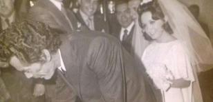 'La Chilindrina' publicó fotos de su matrimonio donde 'Don Ramón' fue testigo
