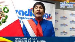 Mensaje a la nación al estilo de Fernando Armas