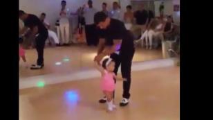 ¡Mira a esta niña de 3 años bailar salsa! ¡Te sorprenderás! (VIDEO)