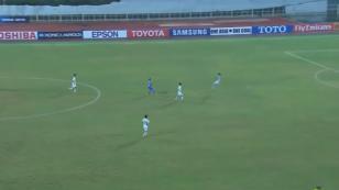 ¡Mira el extraño gol que hizo un portero coreano! (VIDEO)
