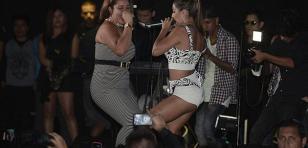 Yahaira Plasencia y Mirella Paz cantaron 'Déjala'