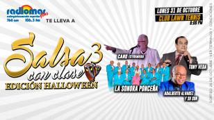 ¡No te puedes perder 'Salsa con Clase 3' con Tony Vega, La Sonora Ponceña y otros grandes artistas!