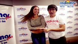 Olinda Castañeda y Fernando Armas bailaron salsa