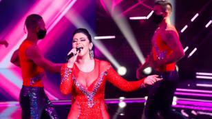 Orquesta Bembé: María Grazia Polanco dedicó presentación en reality de canto a su padre