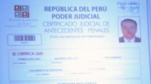 Por Internet ya se puede obtener certificado de antecedentes penales